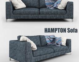 Hampton sofa 3D