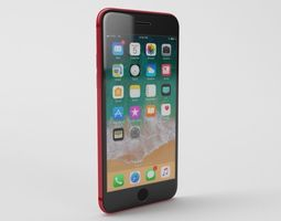 iPhone 8 Product Red - Element 3D