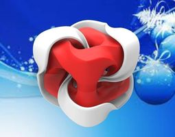 X-MAS TWISTED MOBIUS CUBE GIFTS 3D print model