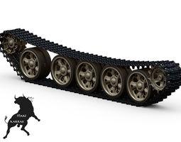 T-55   Tracks 3D Model