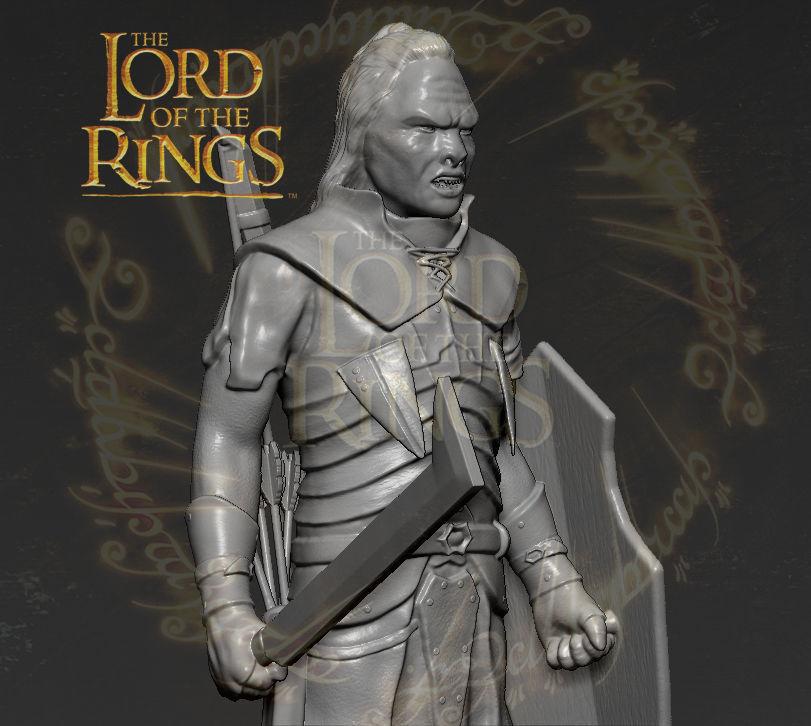 Lurtz Uruk-Hai The Lord of the Rings