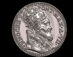 church Vatican medal 3D printable model