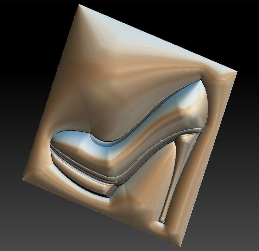 a17dcf9efa 3D printable model No 21 Women high heels shoes   CGTrader