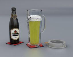 3D model beverage Beer Jug