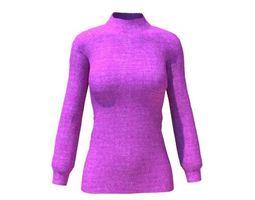 3D model women sweater
