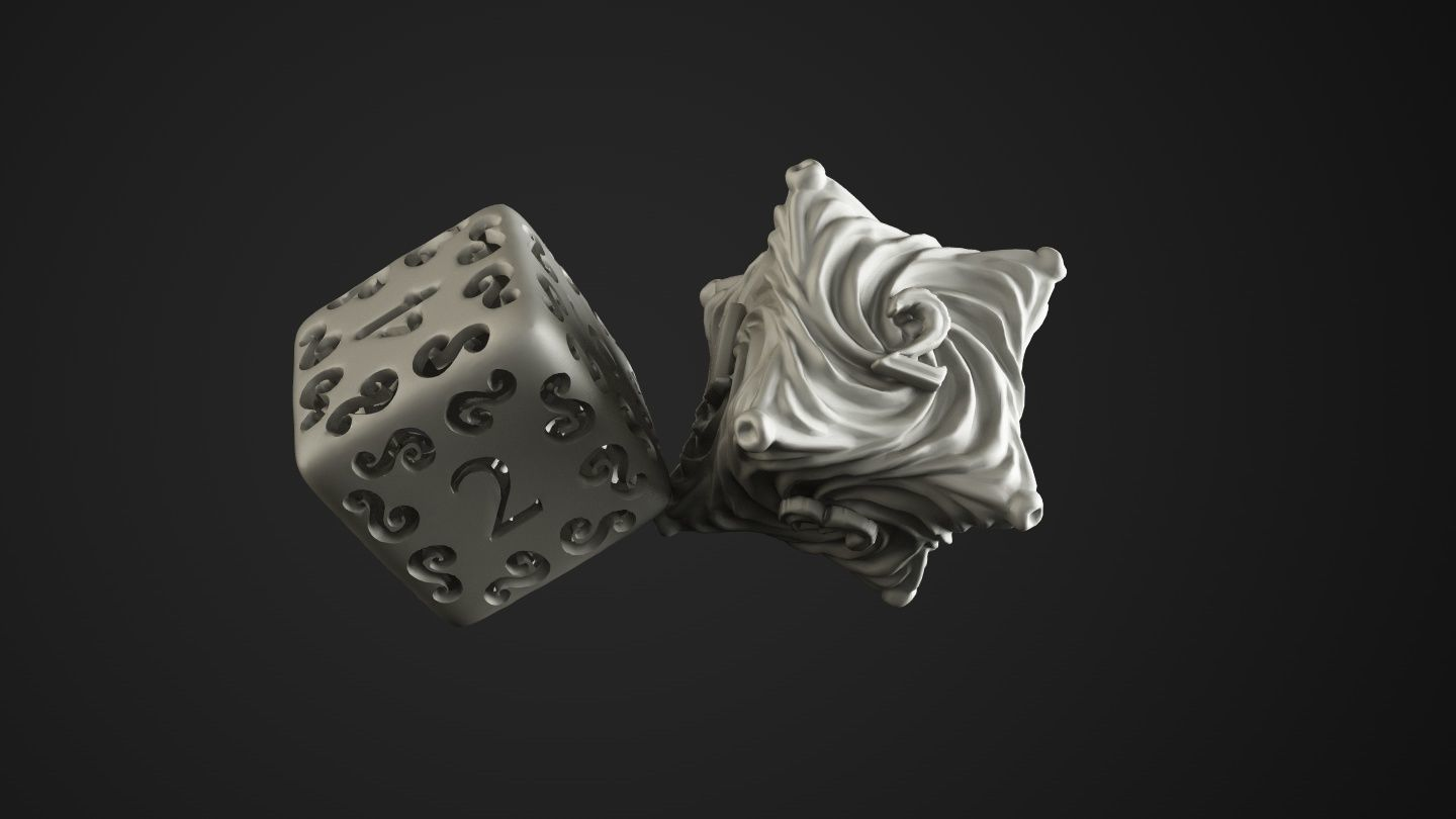 dice chaos and elves | 3D Print Model