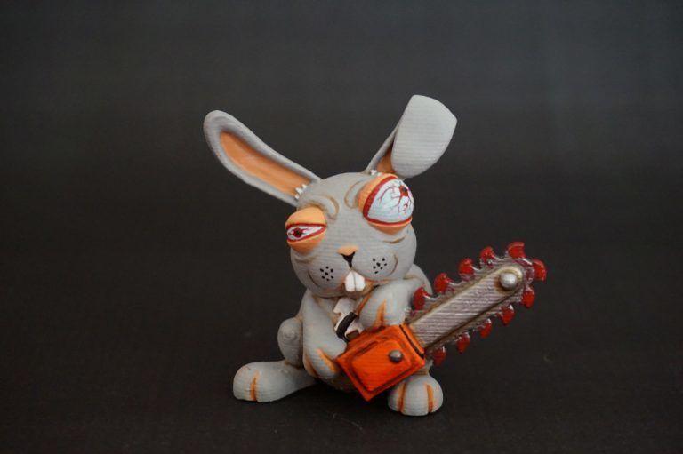 crazy rabbit