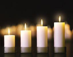 3D model Candles set