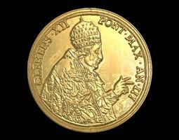 Vatican medalion 2 3D print model