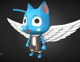 3D asset Happy Fairy Tale