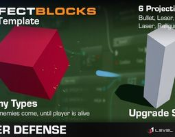 3D asset Perfect Blocks - Idle Tower Defense