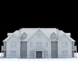 3D model great manor