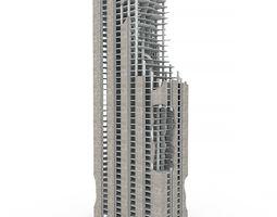 3D model NYC Demolished Building 01