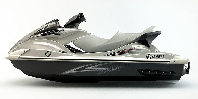 yamaha fx cruiser sho 3d model max obj mtl fbx ma mb dwg 1