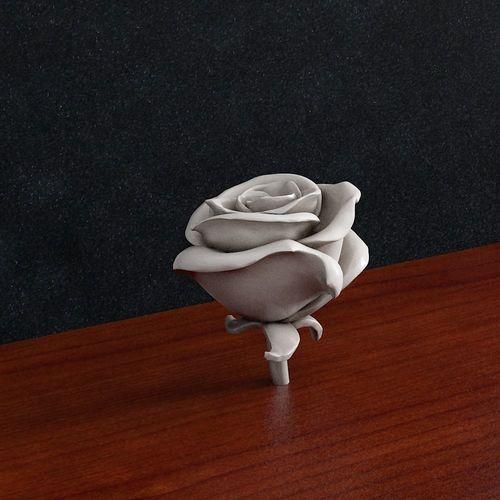 rose flower 3d model stl 1