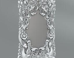 3D model Frame for mirror 25