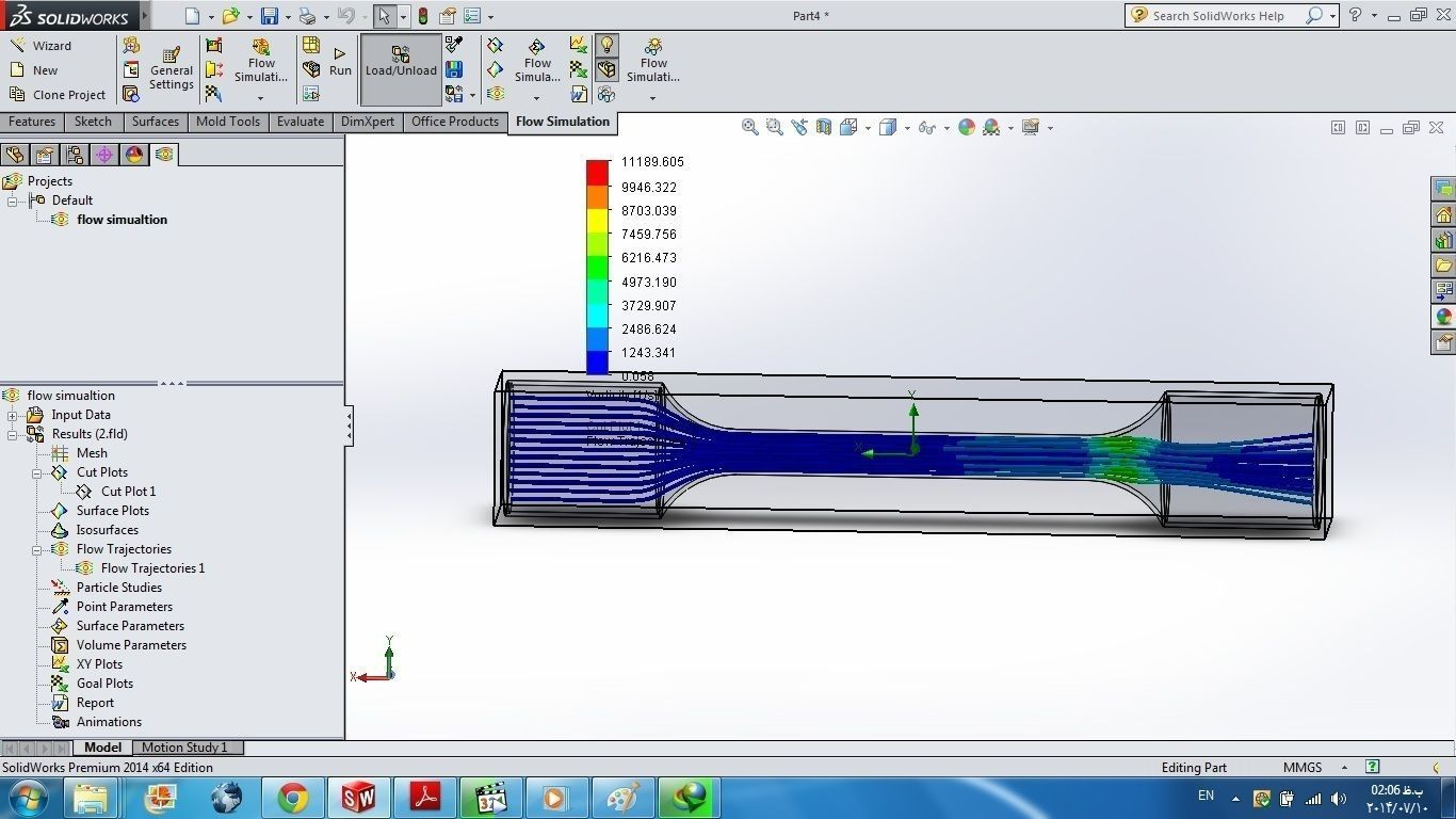 3d model tutorial 19 solidworks flow simulation