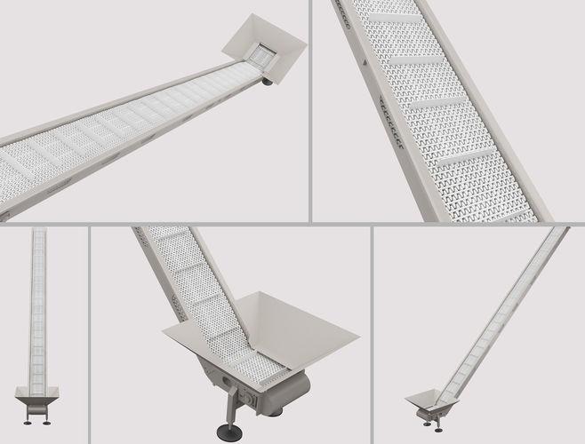 elevator conveyor 3d model max obj mtl 3ds 1