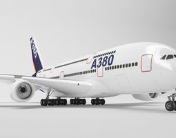 airbus a380 - element 3d