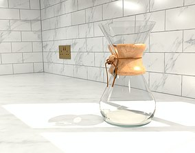 3D model CHEMEX 8 Cup Classic Coffeemaker