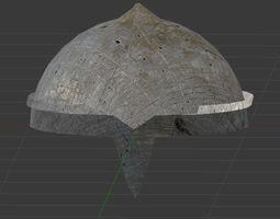 Rusty Helmet 3D model