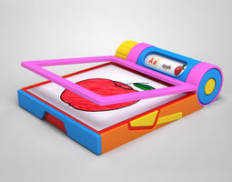 Drawing Pad 3D model