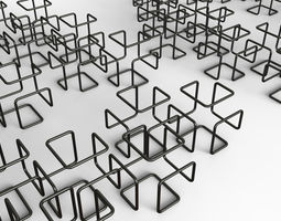 3D model Wire or Cube