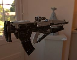 Machine Gun detailed 3D