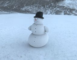 3D Snowman - Creo Freestyle feature