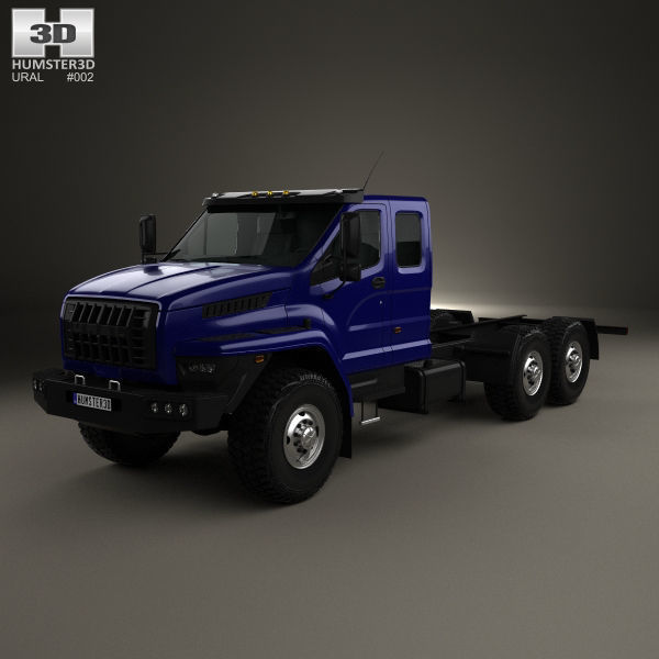 Ural Next Chassis Truck 2015