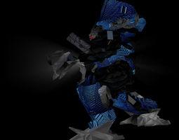 3D asset convertible