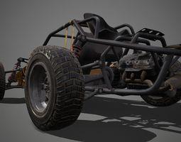 3D asset Buggy PUBG