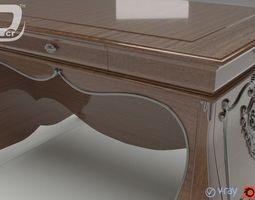 ambrosine extention table 3d model