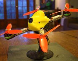3D printable model Canopy for QAV-XS racing
