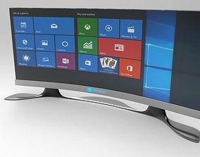 3D asset windows oled plus smart tv