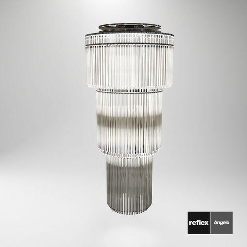 candelabra and wall lamp charleston from reflex angelo 3d model max obj mtl fbx pdf 1