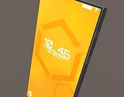 Phone 3D asset game-ready