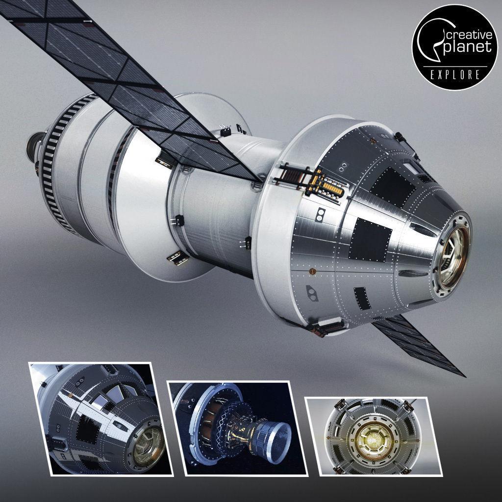 Spacecraft ship rocket