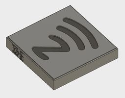 Small sized Outdoor NFC housing 3D print model