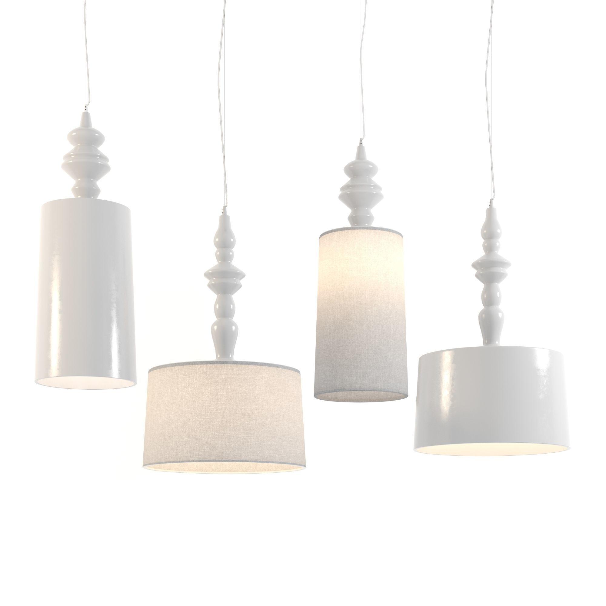 KARMAN Ali e Baba suspension lamps