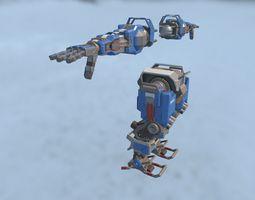 3D model Robot Prime