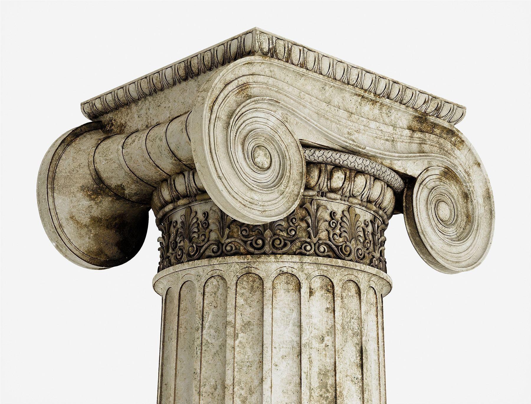 Column Greek Erechtheum