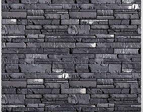 Stone Wall room 3D model