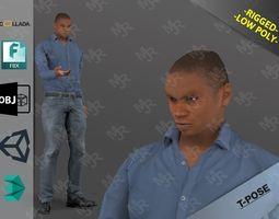 AfroMan1 3D model