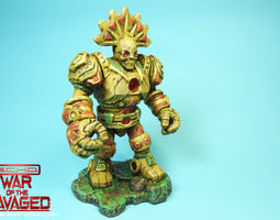 Eztlachtli from War Of The Ravaged Free 3D print model