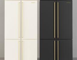 3D Smeg Coloniale Fridge FQ60CPO