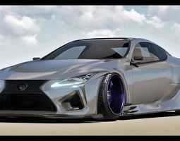 3D Custom Lexus LC-500