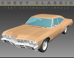 Chevrolet Impala 1967 3D