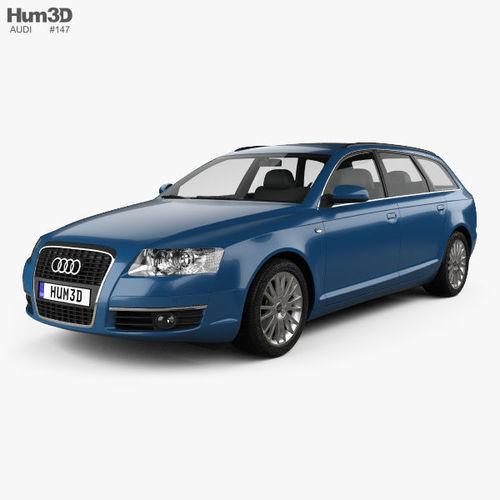 Audi A C Avant D Model CGTrader - 2005 audi a6