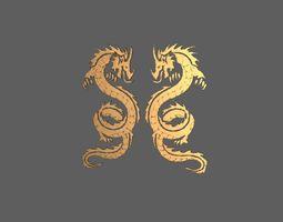 Dragons 3D printable model